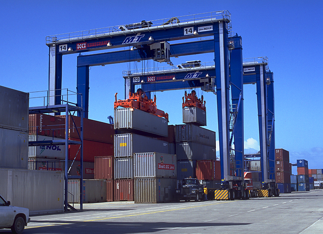 Rubber Tyred Gantry Cranes Translate : Kci konecranes in major indonesian crane deal