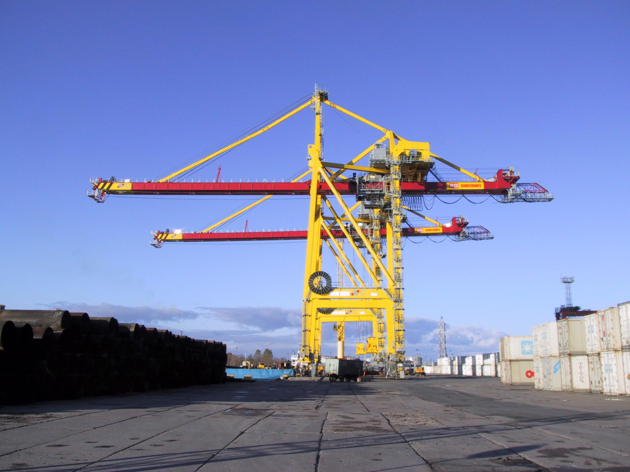 Konecranes Supplies Rtg Cranes To Brazil And Spain