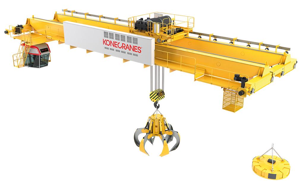 Scrap Handling Cranes Konecranes Com