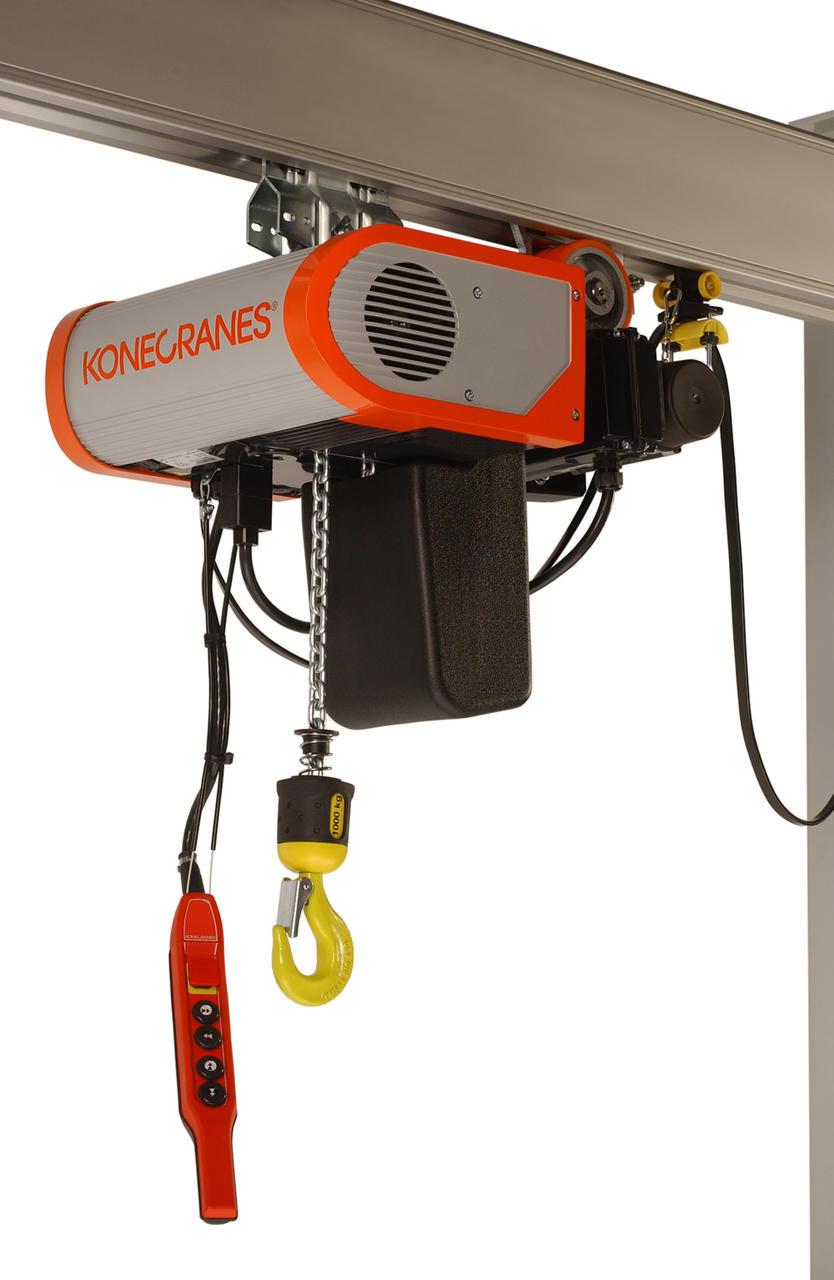 Choice of electric hoists 89