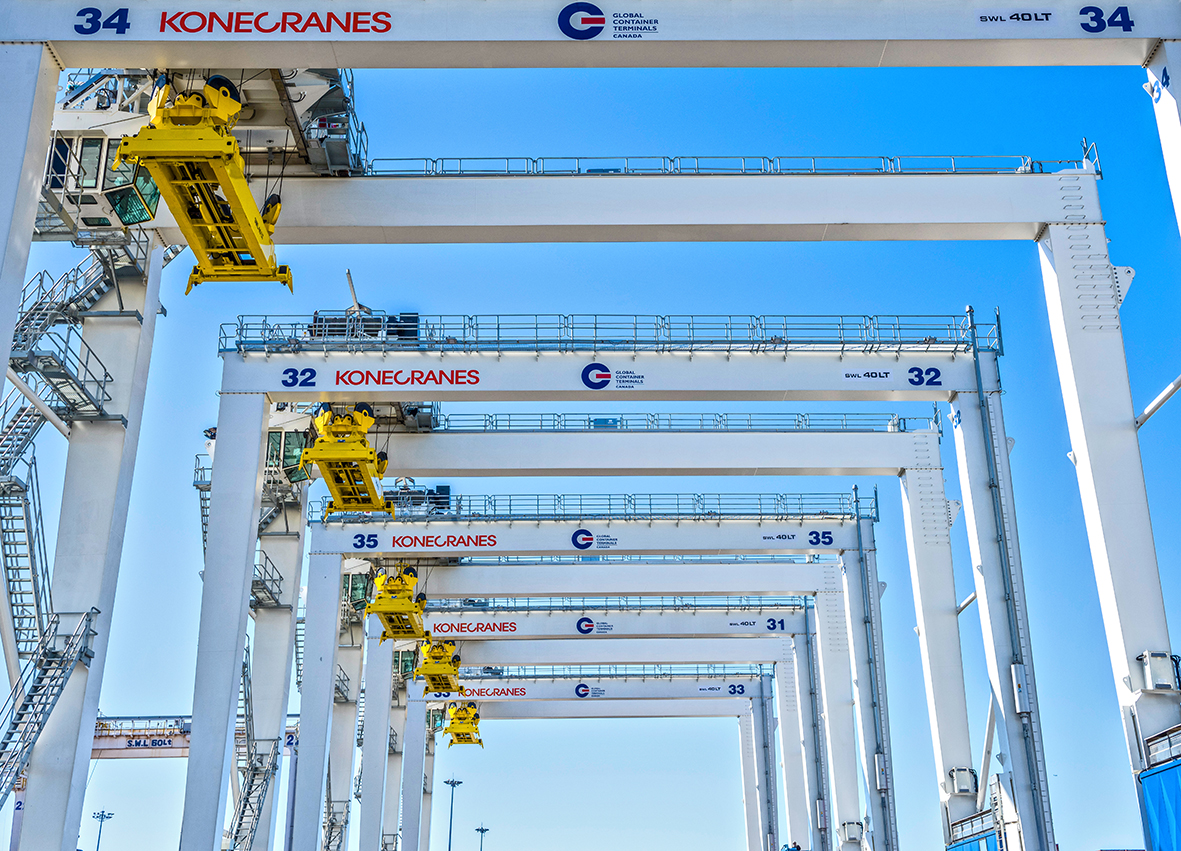 Global Container Terminals orders 10 more Konecranes RTGs for its ...
