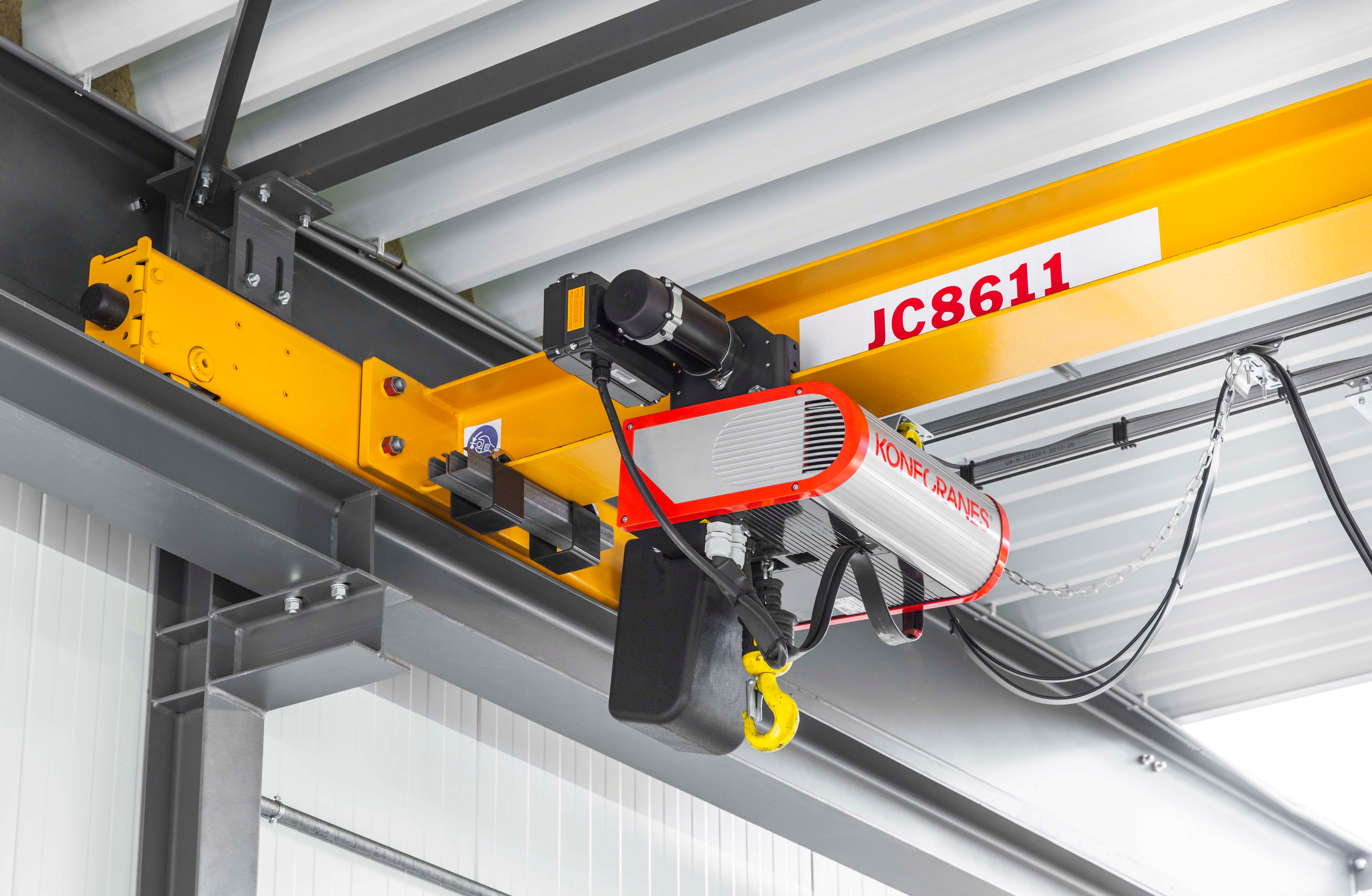 Material Handling Crane Forward Repair System : Konecranes launches the upgraded clx chain hoist crane