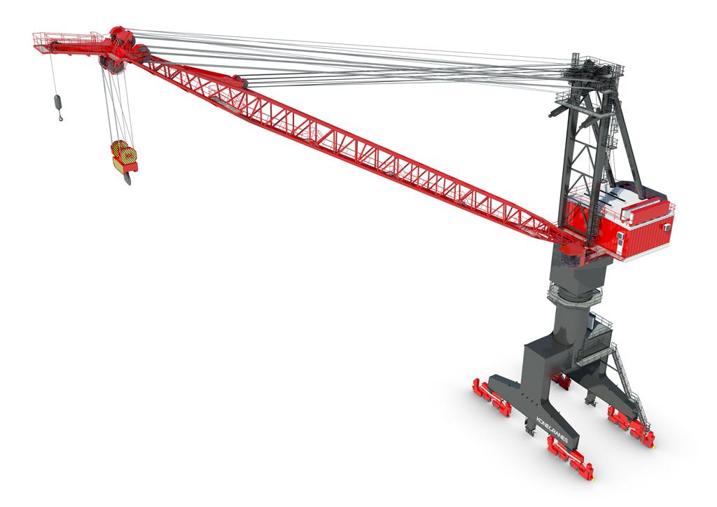 Jib Crane In Uae : Port jib crane konecranes