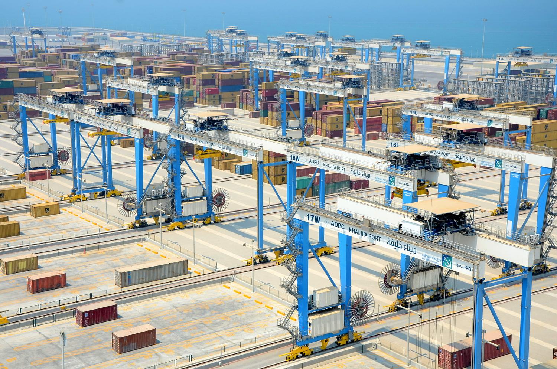 Automatic Stacking Cranes Container Cranes Konecranes Com