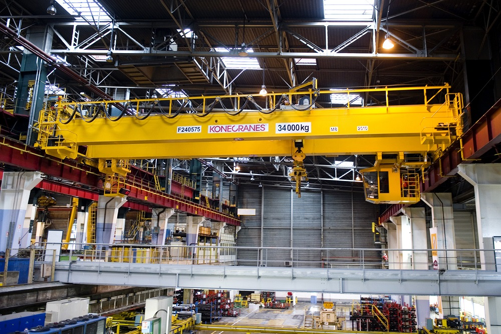 Overhead Crane Assembly : Overhead cranes konecranes
