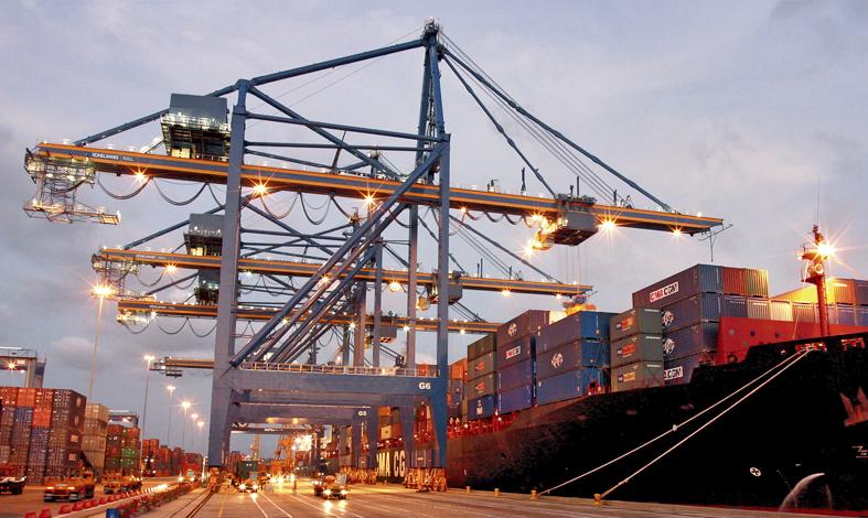 Ship To Shore Gantry Crane Definicion : Ship to shore gantry cranes konecranes