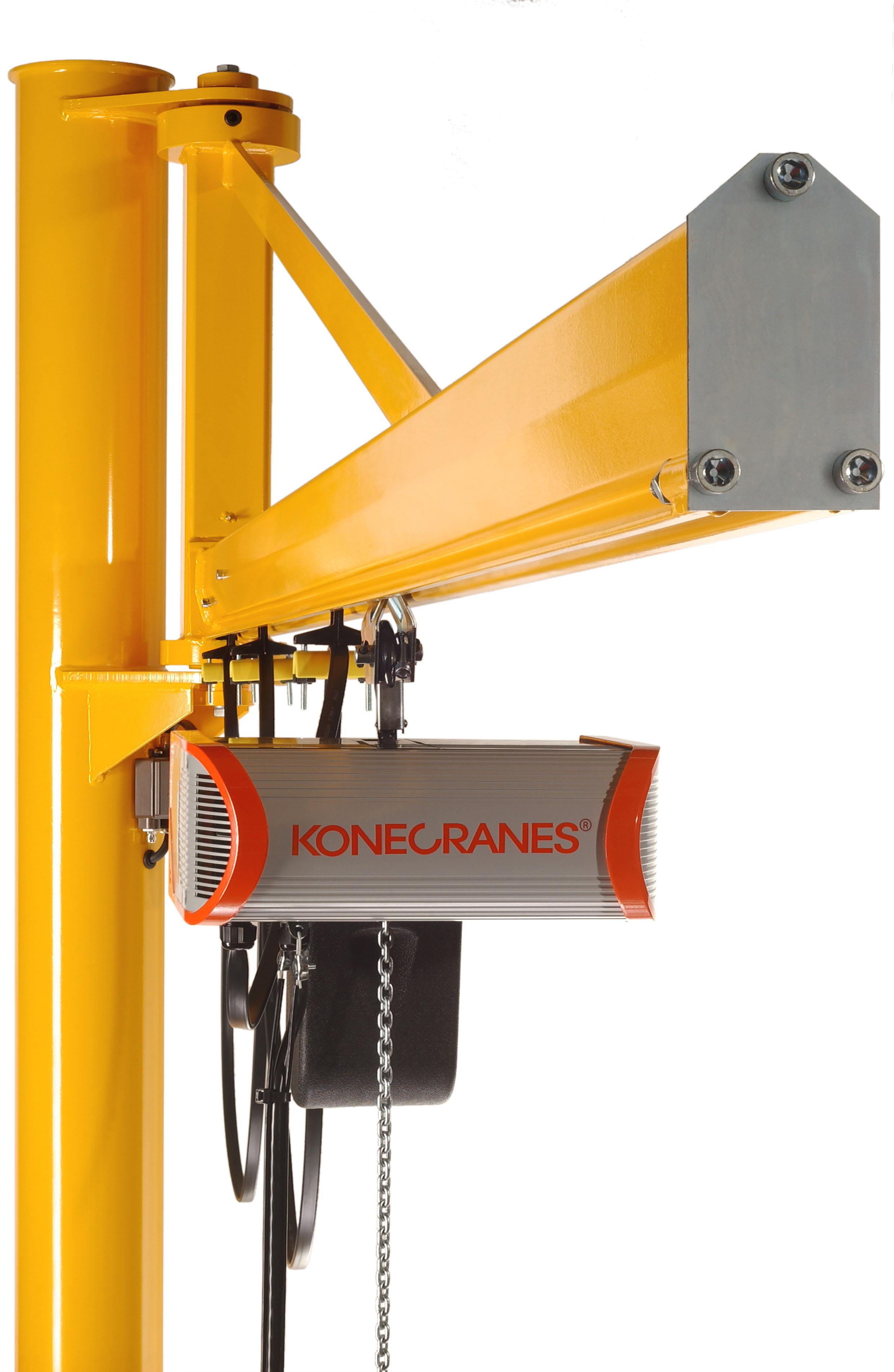 Material Handling Crane Forward Repair System : Jib cranes konecranes