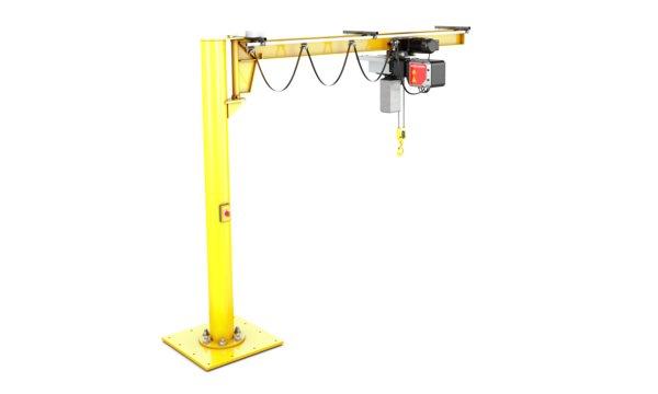 Kone Overhead Crane Parts : Ex jib cranes