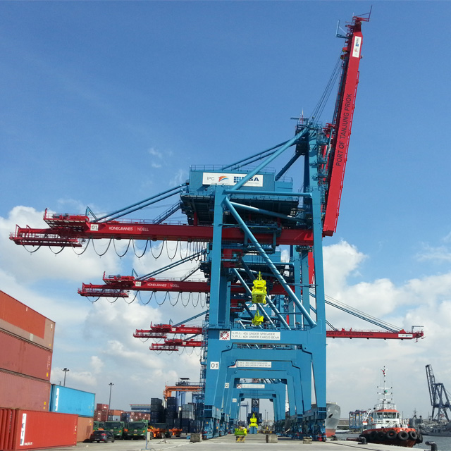 Ship To Shore Gantry Crane Definicion : Konecranes noell ship to shore cranes