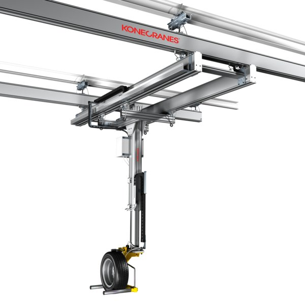 Xa Aluminium Workstation Cranes