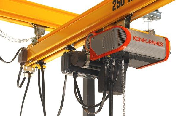 Workstation Crane Systems : Clx electric chain hoist