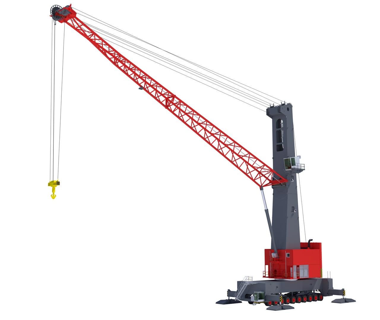 Mobile Crane Hoist : Mobile harbor cranes konecranes
