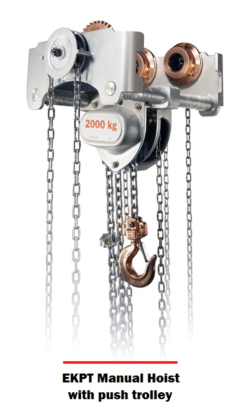 An Economical Reliable Hoist As Required