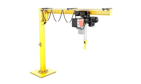 Used Jib Crane Hoist : Ex jib cranes