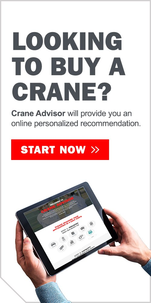 Looking to buy a crane?