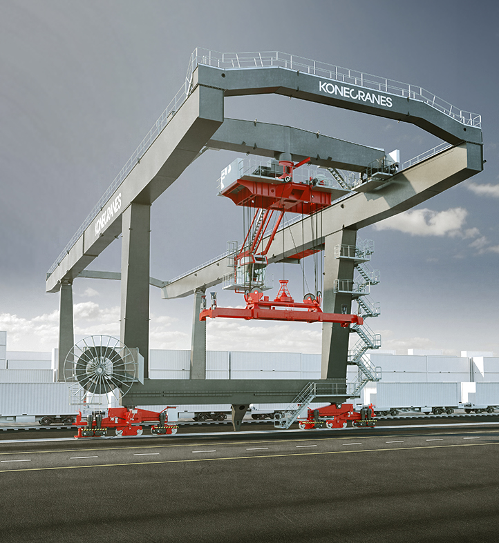 Rail Mounted Gantry Crane : Rail mounted gantry cranes rmg