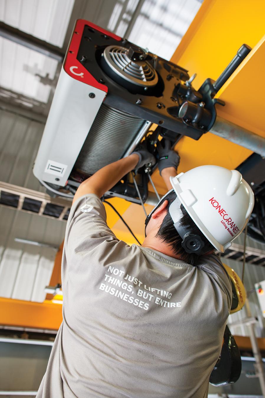 Overhead Crane Electrical Maintenance : Overhead crane repair konecranes