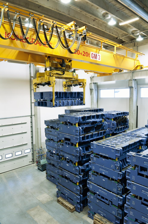Crane Automation for the Automotive Industry   Konecranes.com