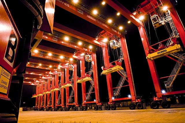 Rubber Tired Gantry Cranes Rtg Gantry Cranes