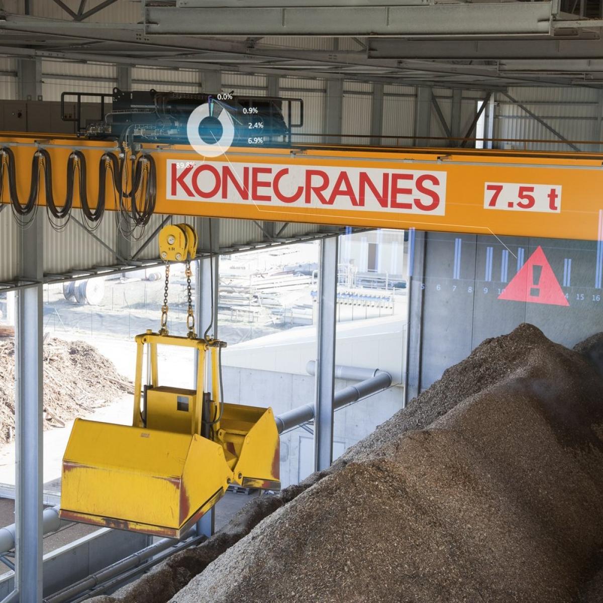 TRUCONNECT Remote Monitoring for cranes | Konecranes