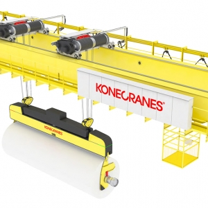 Parent roll handling cranes image