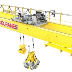 Waste handling cranes image