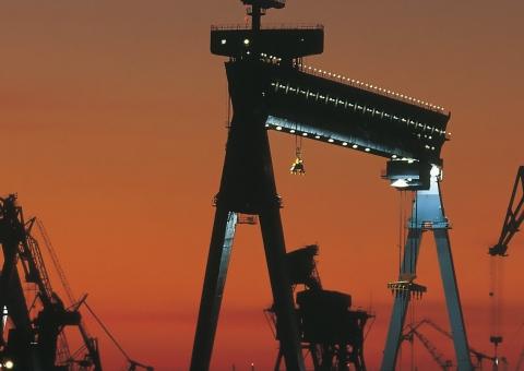 Shipyard cranes | Konecranes