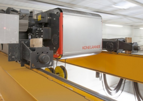 Five benefits to using remote monitoring with your overhead cranes image