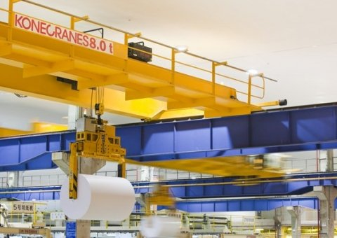 Automated cranes image