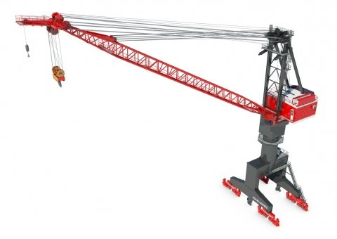Single Boom Shipyard Cranes image