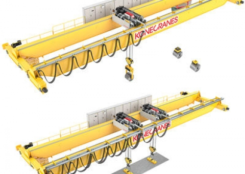 Coil and Plate Handling Cranes image