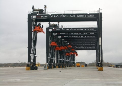 Rubber Tired Gantry Cranes image