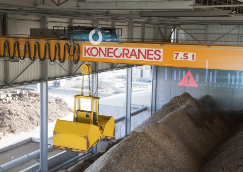 Remote monitoring for cranes