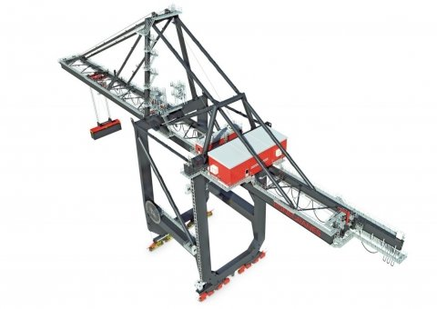 Ship-to-shore gantry crane image