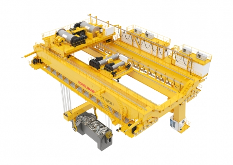 Four-girder Charging Cranes image