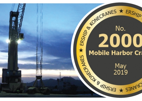 2000th Konecranes Gottwald Mobile Harbor Crane