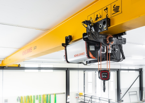 WD Steelworks utilises all benefits Konecranes S-series offers