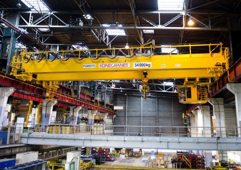Die Gripper Cranes application