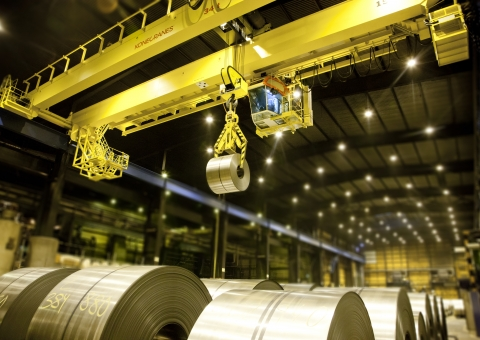 Coil and Plate Handling Cranes