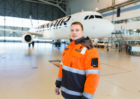 Finnair, the world's safest airline 2019, relies on Agilon in its MRO warehouse