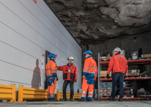 Agilon, automated material handling in cold mine underground