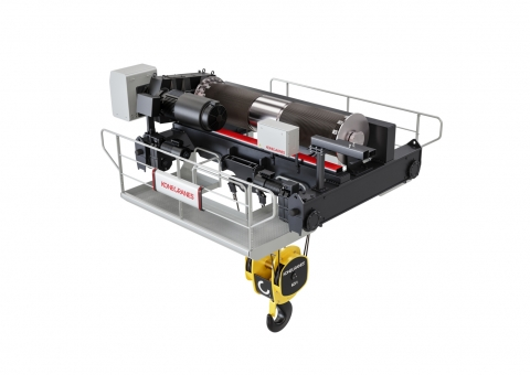 M- Series, open winch crane