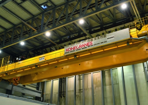 Konecranes equipment at Grosskraftwerk Mannheim