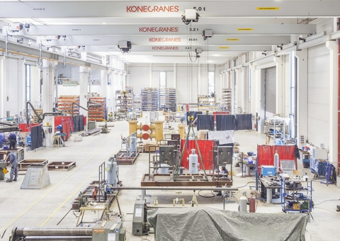 Konecranes equipment at Kliewe