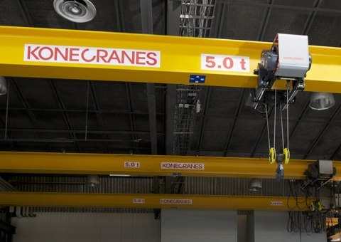 Konecranes hoist in facility