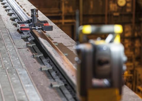 Konecranes rail survey robot