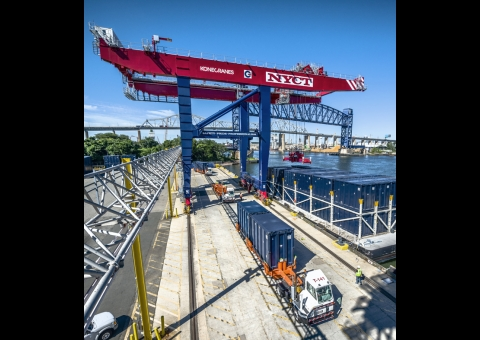 Rail Mounted Gantry Cranes image