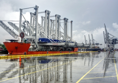 Ship-to-Shore Gantry Cranes image