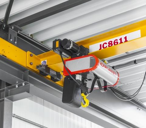 Electric chain hoist replacement | Konecranes