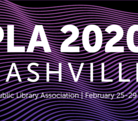 Public Library Association Conference 2020 banner